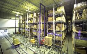 自動倉庫 コンパクトシステム納入事例