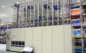 ピッキング型ケース自動倉庫