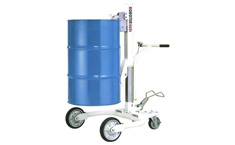 油圧式ドラム缶運搬車