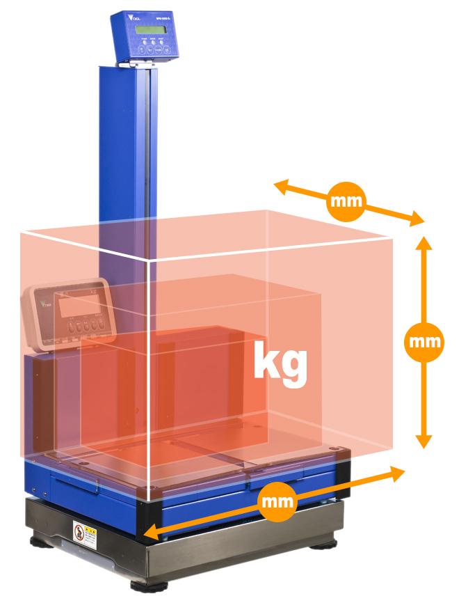 重量寸法自動計測機