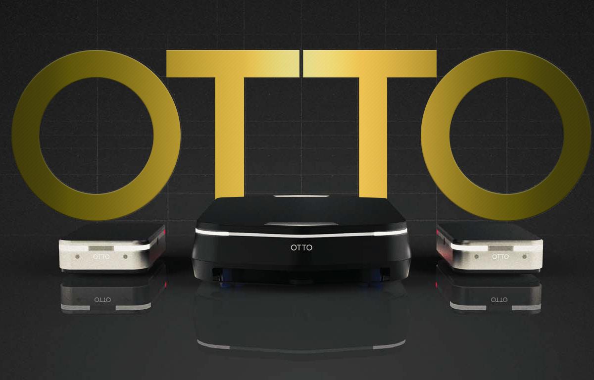 自律走行型搬送ロボット OTTO パンフレット