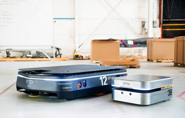 自律走行型搬送ロボット OTTO