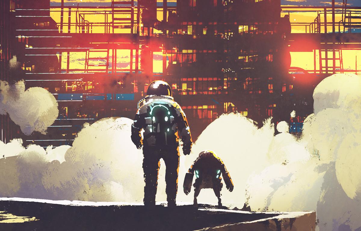 SNSで話題のバク宙ロボットが物流業界を救う!?
