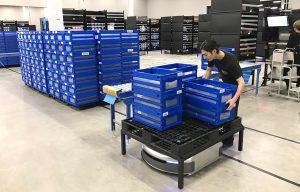 AI物流ロボット Geek+ 新型「EVE SLAM型」販売開始