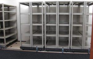 倉庫内の収納量が1.5~2倍に! 移動ラックの種類と導入メリットとは