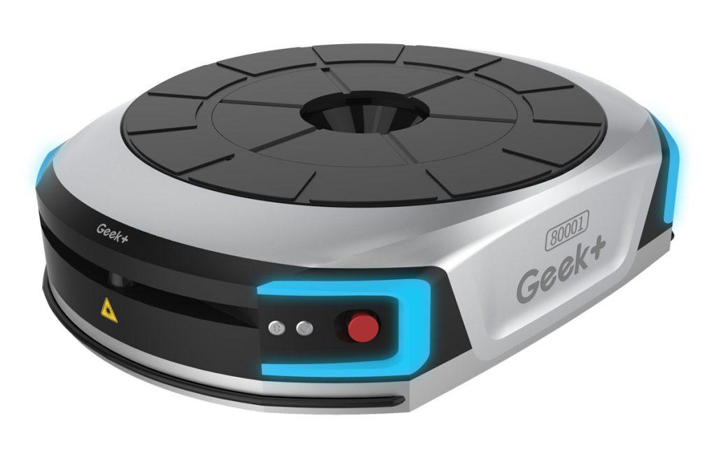自動棚搬送ロボット GeeK+ EVE