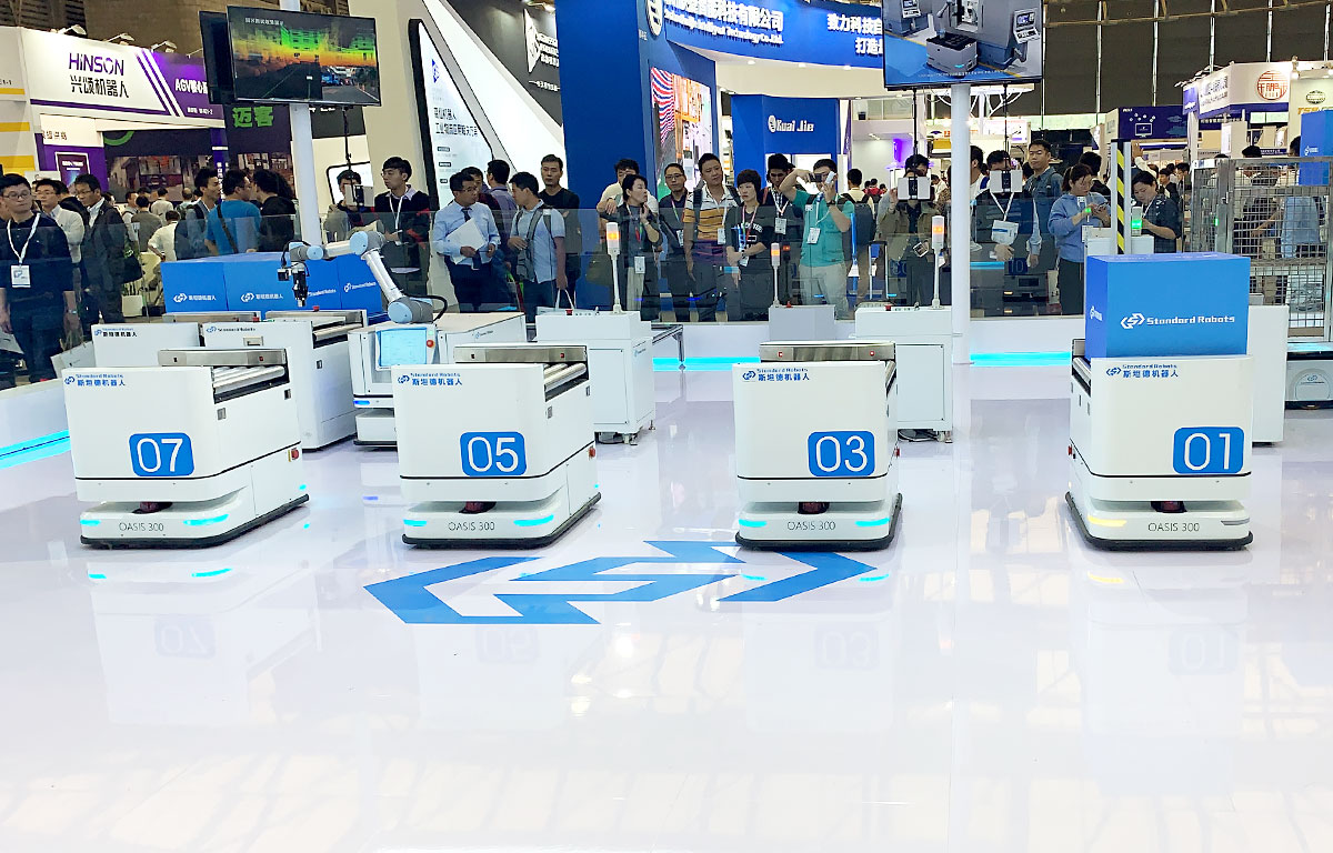 CeMAT ASIA 2019搬送ロボット