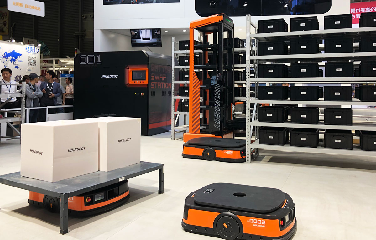 CeMAT ASIA 2019 自動搬送ロボット