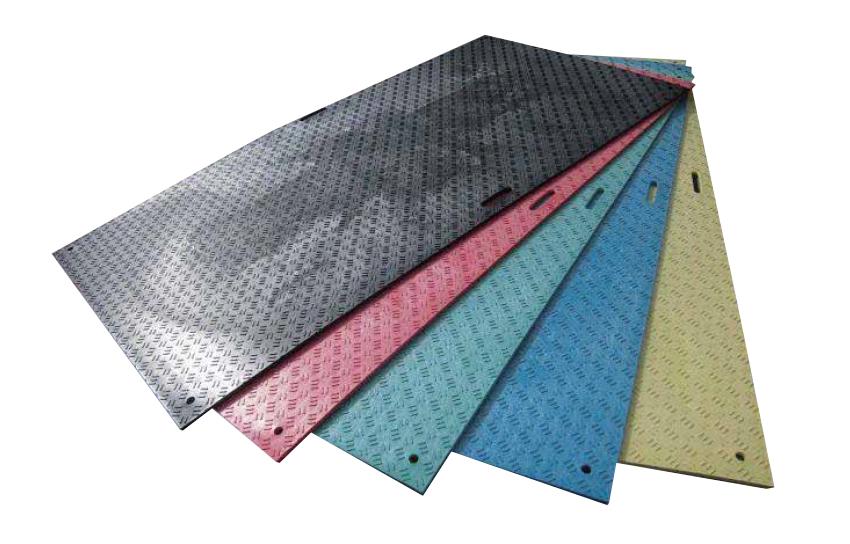 養生用敷板 ウッドプラスチック製