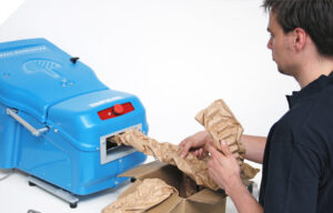 紙緩衝材システム