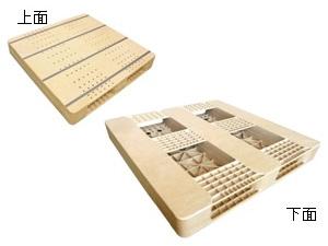 ウッドプラスチックパレット製品画像
