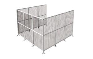 倉庫・工場内の安全柵・防護柵